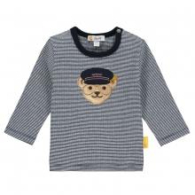 Steiff Baby Shirt lg.Arm Pilot Ringel