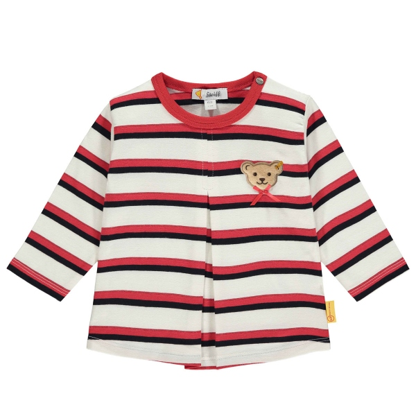 Steiff Baby Shirt lg.Arm Mäd.Kellerfalte