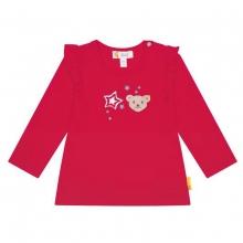 Steiff Baby Shirt lg.Arm Mäd.Rüsche