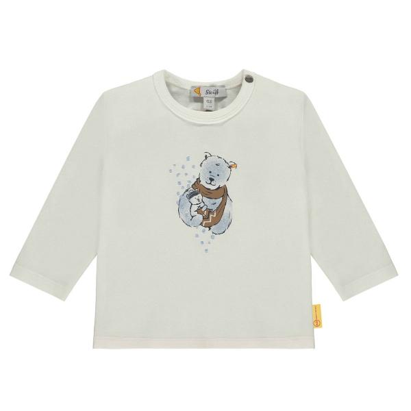Steiff Baby Shirt lg.Arm Ju.Eisbärpapa