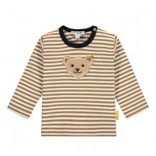Steiff Baby Shirt lg.Arm Ju.Streifen