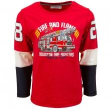 Salt & Pepper Shirt lg.Arm Fire and Flam