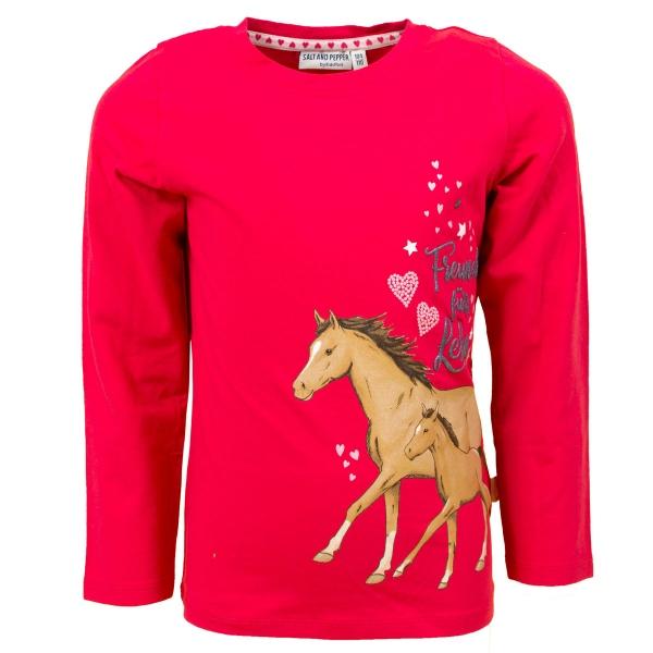 Salt & Pepper Shirt lg.Arm Pferd Fohlen