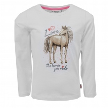 Salt & Pepper Shirt lg.Arm Pferd Love