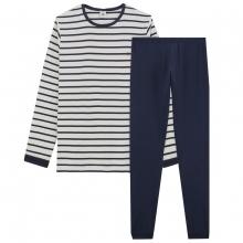 Petit Bateau Pyjama Ju. lang Marinelook
