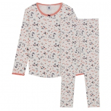 Petit Bateau Pyjama Mäd. lang Paris