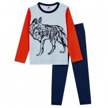 Petit Bateau Pyjama Ju. lang Wolf