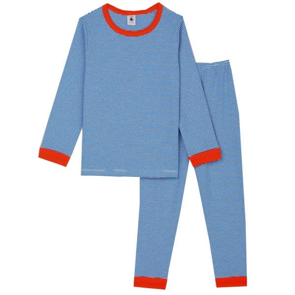 Petit Bateau Pyjama Ju. lang Ringel