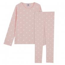 Petit Bateau Pyjama Mäd.lang Alloverherz