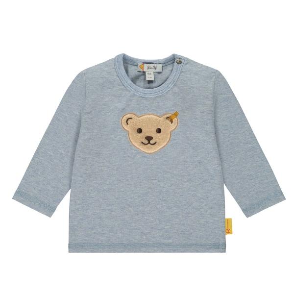 Steiff Baby Shirt lg.Arm Ju.Bärenkopf