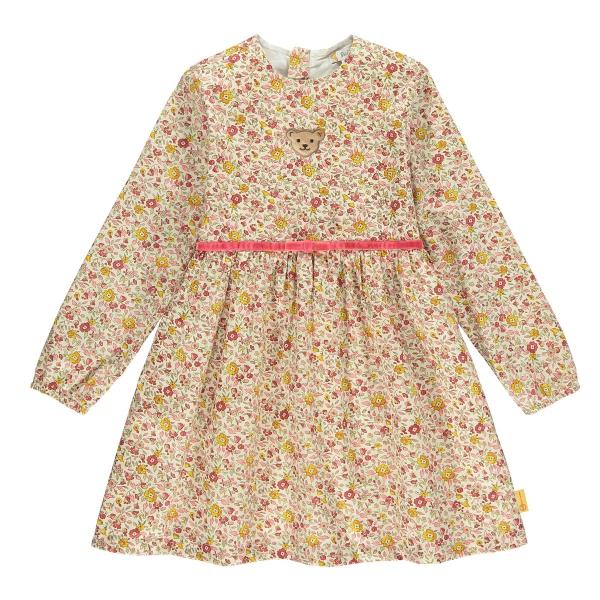 Steiff Kleid lg.Arm Blütenmuster