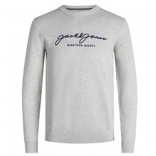Jack & Jones Pullover lg.Arm Schriftzug