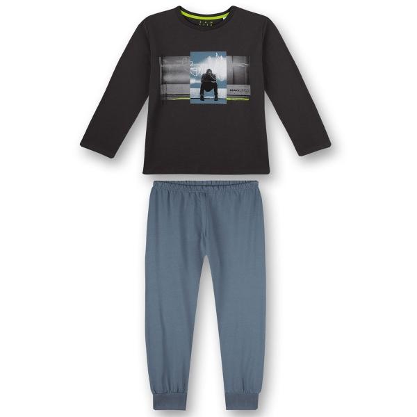 Sanetta Pyjama lang Ju.Mann sitzend