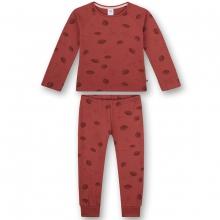 Sanetta Pyjama lang Pilze Blätter