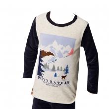 Peti Bateau Pyjama Ju. lang Berge