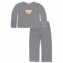 Steiff Basic Schlafanzug lang gestreift