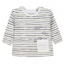 Bellybutton Shirt lg.Arm Ju.Ringel Tasch