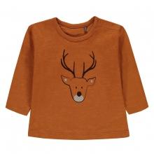 Bellybutton Shirt lg.Arm Ju. Hirsch