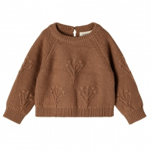 Lil Atelier Baby Pullover Mäd.Muster