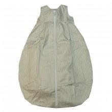 TAVO Flanell Schlafsack breiter Streifen